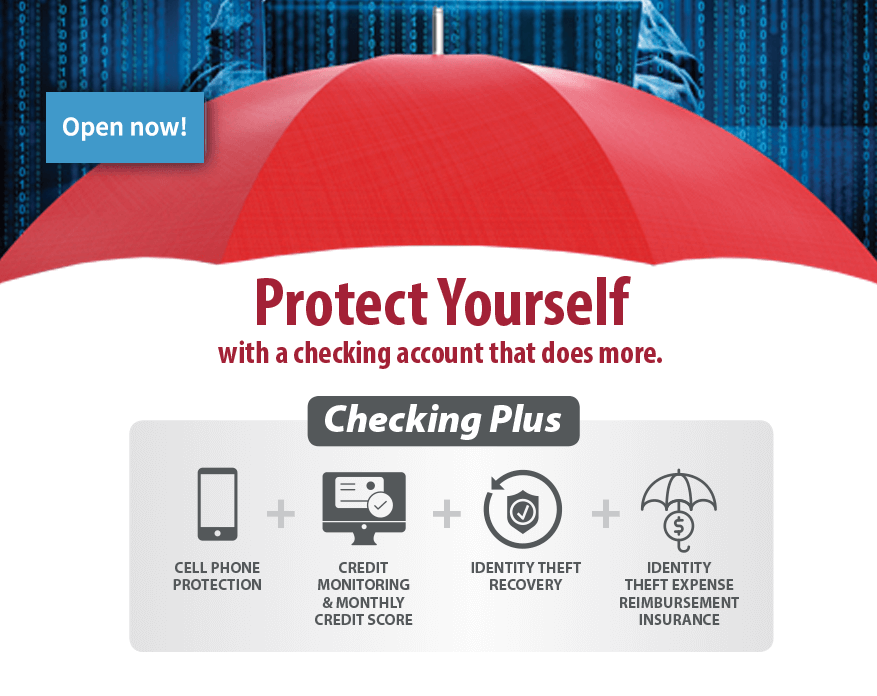 Open Checking Plus Account Now